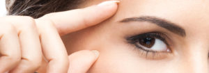 Podkreślenie oprawy oczu